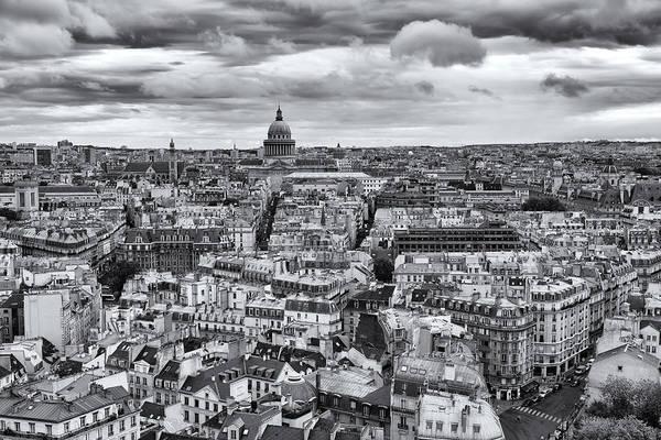Paris Rooftop Photograph - Paris 20 by Tom Uhlenberg