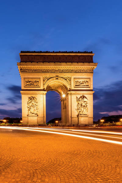 Wall Art - Photograph - Paris Arc De Triomphe  by Melanie Viola