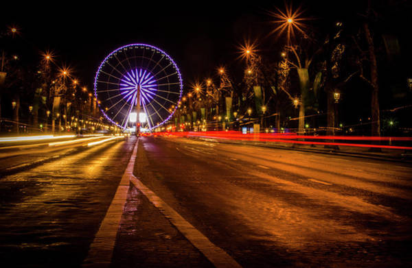 Photograph - Paris At Night by Miguel Winterpacht