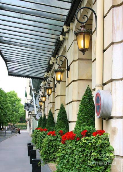 Photograph - Paris Avenue Hoche by Angela Rath