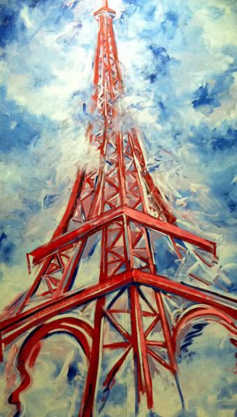 Painting - Paris Backdrop by Thomas Lupari