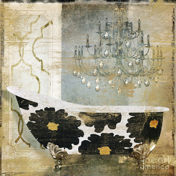 Wall Art - Painting - Paris Bath by Mindy Sommers
