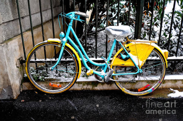 Photograph - Paris Bicycle II by M G Whittingham