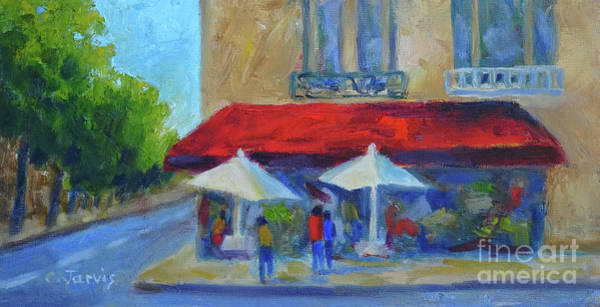 Painting - Paris Cafe by Carolyn Jarvis
