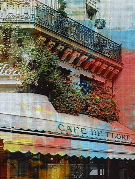 Photograph - Paris Cafe by Digital Art Cafe