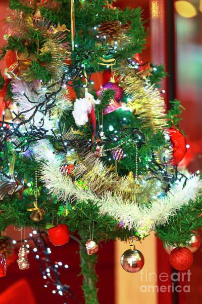 Photograph - Paris Christmas Tree by John Rizzuto