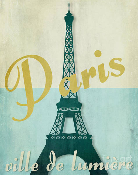 Paris Painting - Paris City Of Light by Mindy Sommers