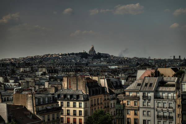 Photograph - Paris Cityscape 001 by Lance Vaughn