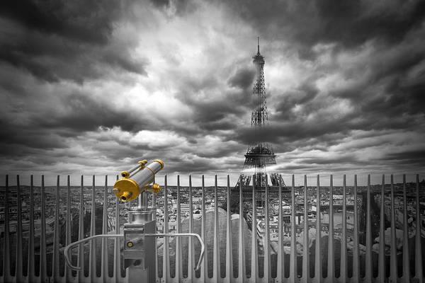 Threatened Photograph - Paris Composing by Melanie Viola
