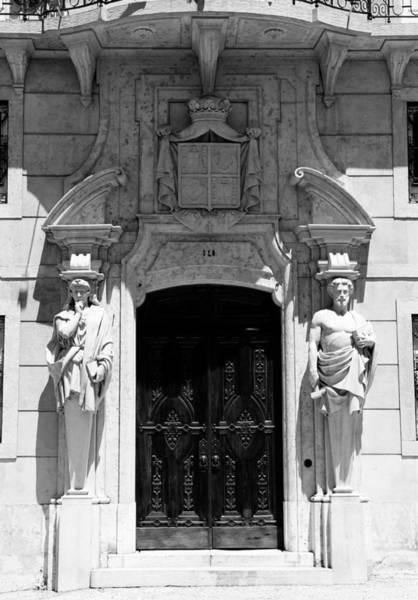 Photograph - Paris Door 1b by Andrew Fare