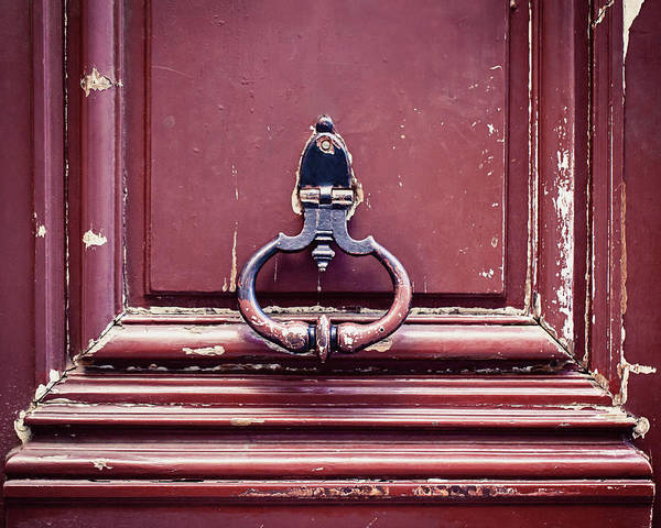 Wall Art - Photograph - Paris Door Knocker by Melanie Alexandra Price