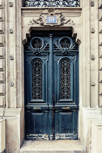 Wall Art - Photograph - Paris Doors No. 10 by Melanie Alexandra Price