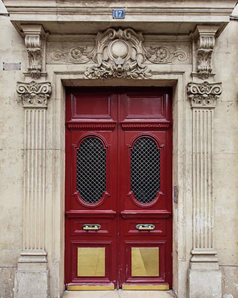 Wall Art - Photograph - Paris Doors No. 17 - Paris, France by Melanie Alexandra Price