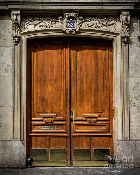 Wall Art - Photograph - Paris Doorway by Perry Webster