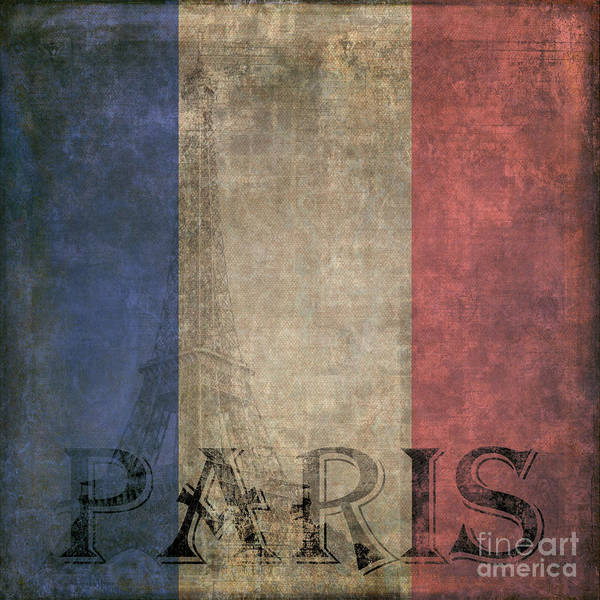 Square Tower Painting - Paris by Edward Fielding
