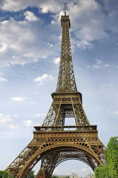 La Tour Eiffel Photograph - Paris Eiffel Tower by Melanie Viola