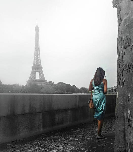 Digital Art - Paris Girl by Clelia Mattana