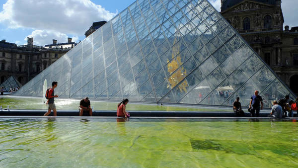 Photograph - Paris Glass Pyramid by August Timmermans