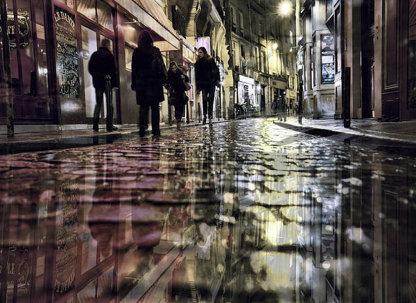 Photograph - Paris Impressions by Evie Carrier