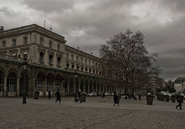 Photograph - Paris In The Early  Spring by Miguel Winterpacht