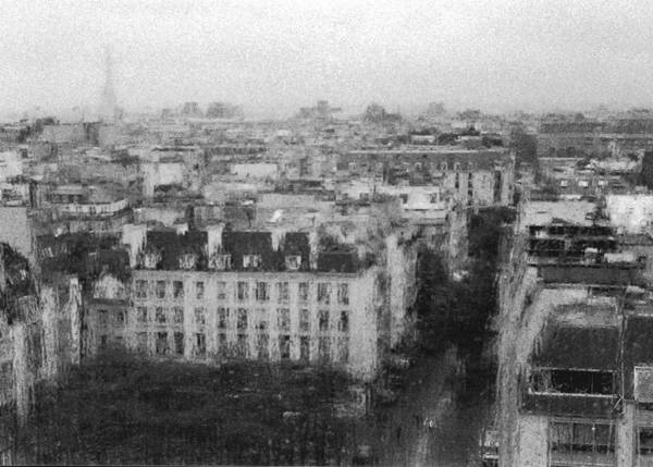 Photograph - Paris In The Rain  by Dubi Roman