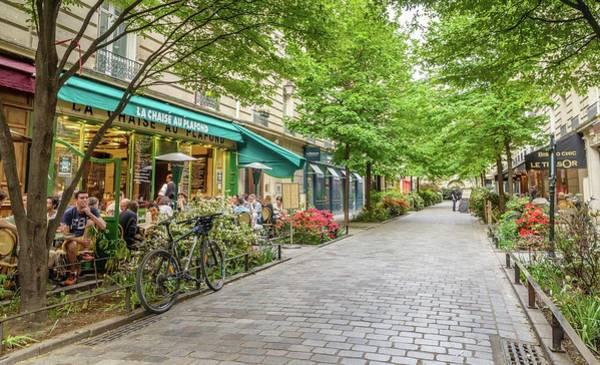 Paris In The Spring  Art Print