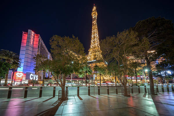 Photograph - Paris In Vegas by Framing Places
