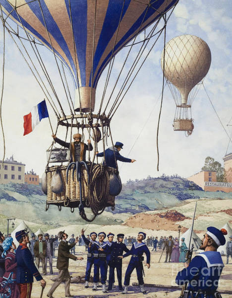Flying The Flag Wall Art - Painting - Paris Is Besieged by Pat Nicolle
