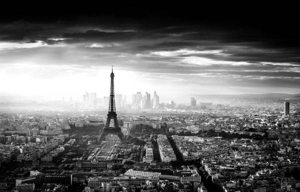 Monochrome Photograph - Paris by Jaco Marx