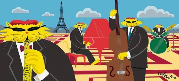 Paris Kats - The Coolkats Art Print