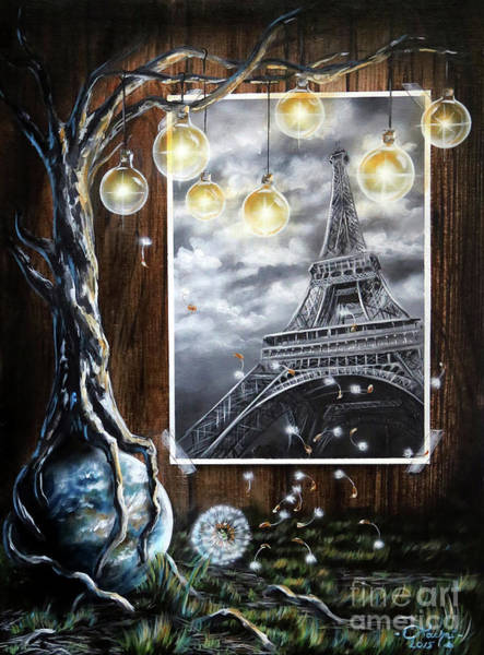 Painting - Paris by Lachri