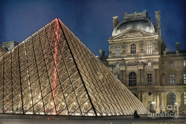 Photograph - Paris Louvre by Juli Scalzi