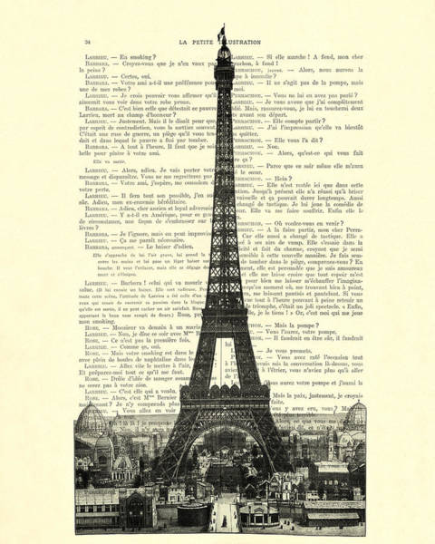 Wall Art - Digital Art - Paris, Love France by Madame Memento