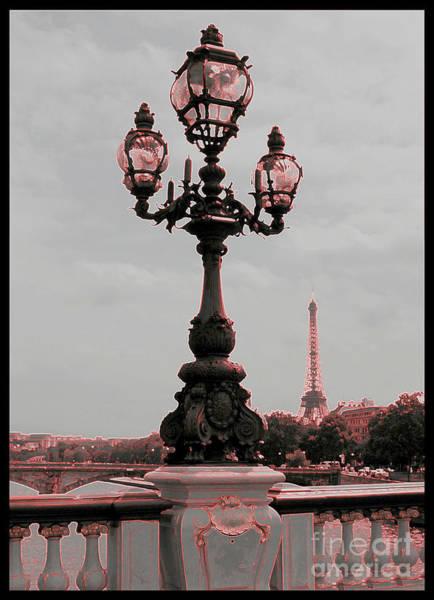 Photograph - Paris Luminaires And Eiffel Tower by Carol Groenen