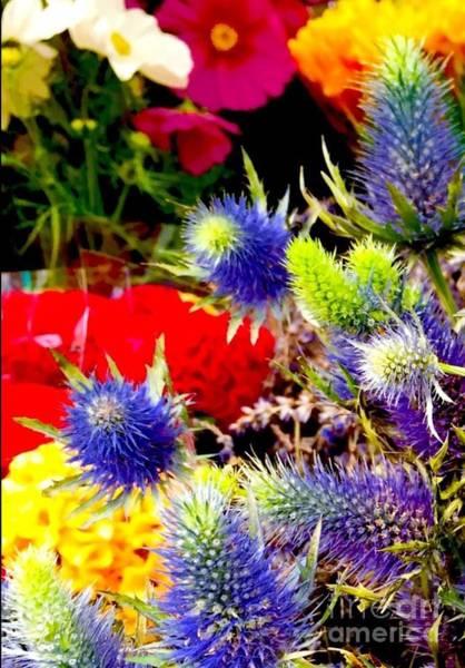 Painting - Paris Market Flowers by Susan Hendrich