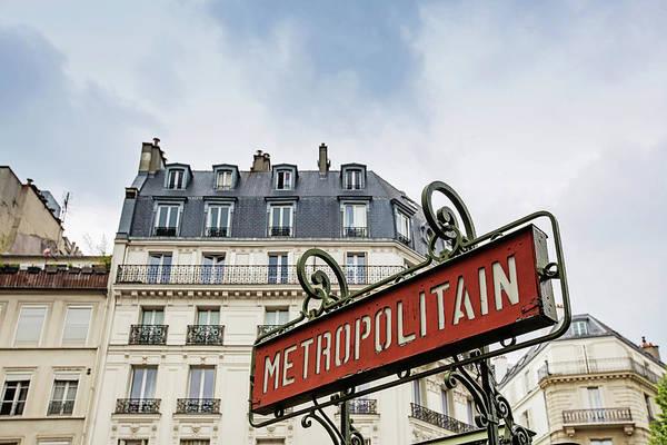 Wall Art - Photograph - Paris Metro by Melanie Alexandra Price