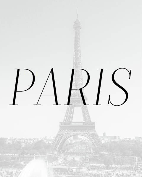 Wall Art - Digital Art - Paris Minimalistic by Pati Photography