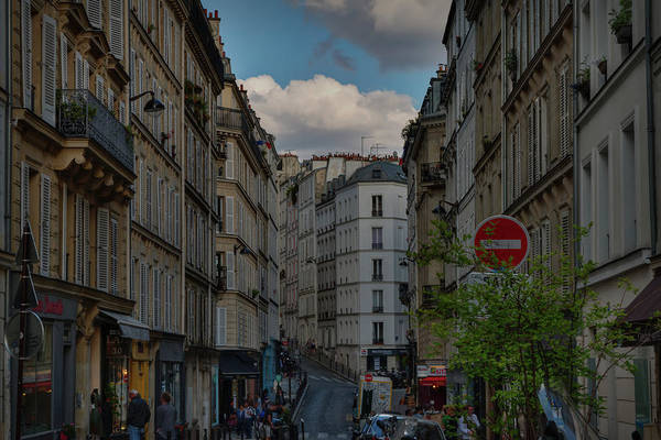 Photograph - Paris - Montmartre Streetscape 001 by Lance Vaughn