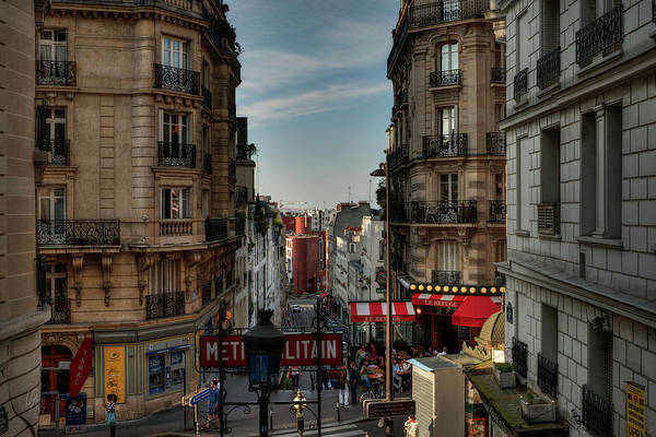 Photograph - Paris - Montmartre Streetscape 004 by Lance Vaughn