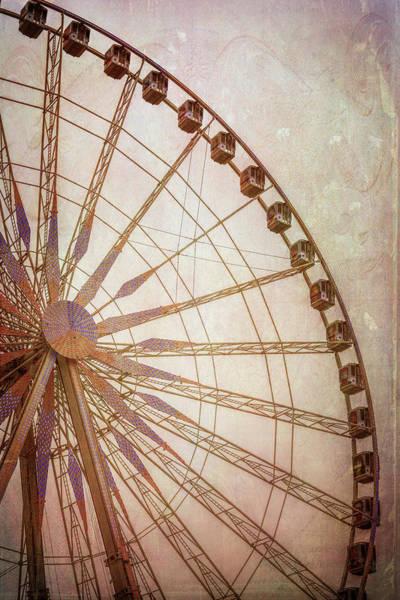 Wall Art - Photograph - Paris Observation Wheel II by Joan Carroll