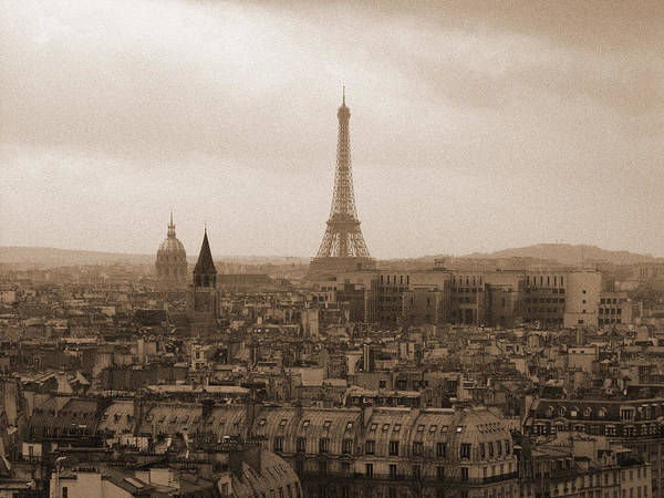 Photograph - Paris Of Yesteryear by Mark Currier