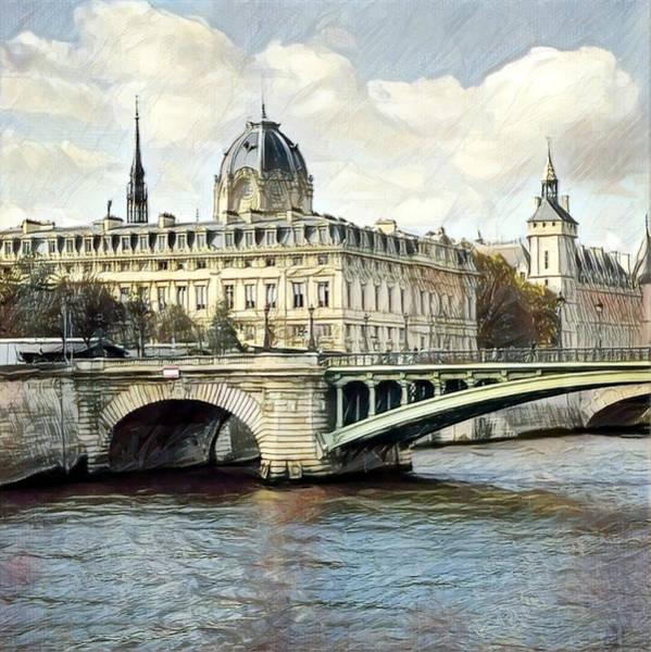 Digital Art - Paris On My Mind by Bellanda