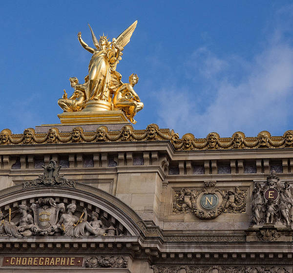 Photograph - Paris Opera - Harmony by Gary Karlsen