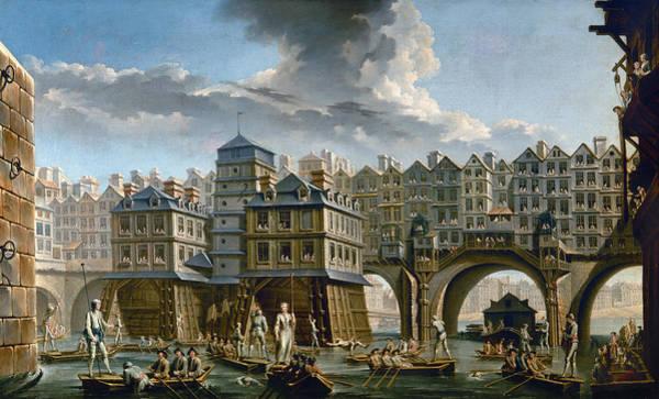 Painting - Paris: Pont Notre-dame by Granger