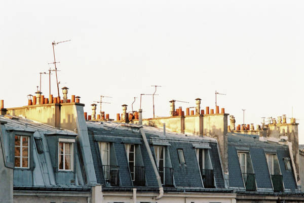 Paris Rooftops Art Print