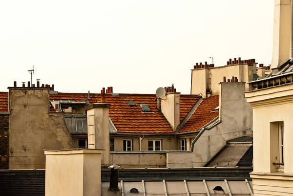 Photograph - Paris Rooftops by Jani Freimann