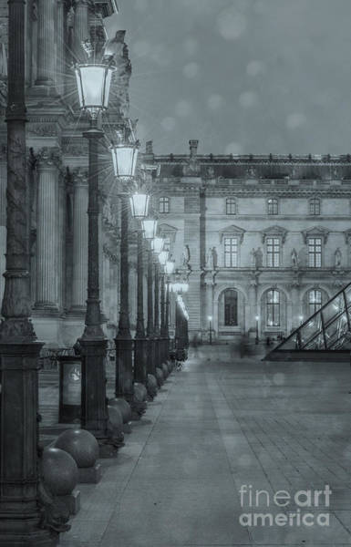 Photograph - Paris. Louvre At Twilight by Juli Scalzi