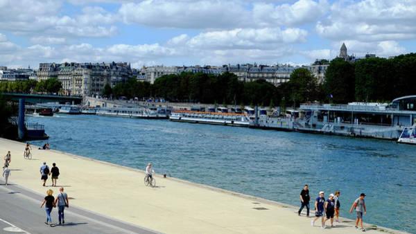 Photograph - Paris Seine Stroll by August Timmermans