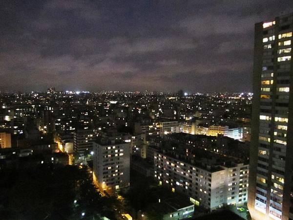 Photograph - Paris Skyline At Night IIi France by John Shiron