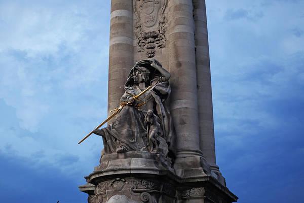 Photograph - Paris Statue by Toby McGuire